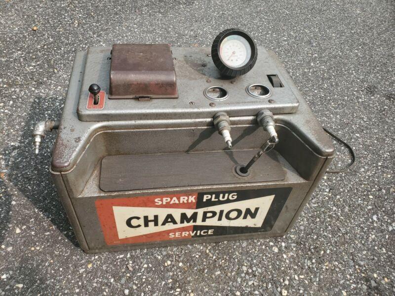 CHAMPION SPARK PLUG VINTAGE SPARK PLUG CLEANER &TESTER