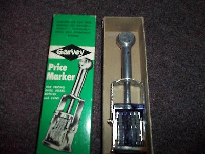 Vintage Garvey Price Marker In Original Box