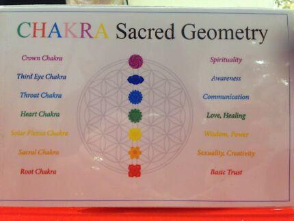 Chakraa Sacred Geometry Gift Card Set