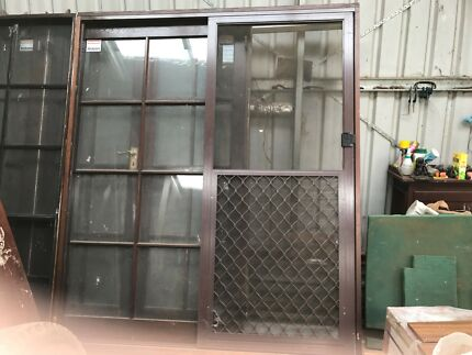 Very nice red cedar colonial sliding door & sliding screen door in Burnie-Devonport Region TAS | Building ...