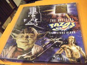 Star Wars Tazo Folder New Mint in Bag - Free Postage