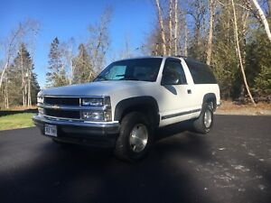 1996 Chevy Tahoe, Very Good Condition