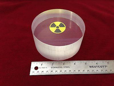 Five Inch Diameter Bc412 Plastic Scintillator Scintillation 5 X 2-14 Thick