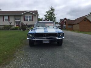 1968 mustang coupe .... 19000 or land trade  / water footage
