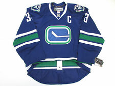 HENRIK SEDIN VANCOUVER CANUCKS AUTHENTIC THIRD REEBOK EDGE 2.0 7287 JERSEY