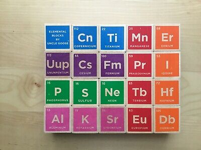 Periodic Table Blocks (Uncle Goose Periodic Table Blocks - Made in)