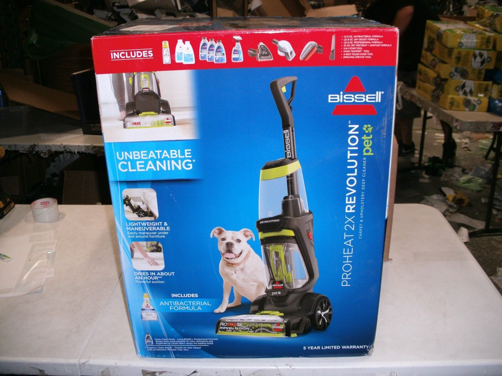 bissell proheat 2x pet manual