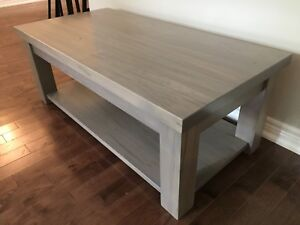 NEW WORMY MAPLE TABLE