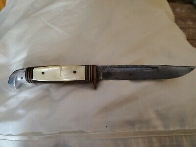 Vintage WESTERN PEARL Bowie Knife Similar to Arkansas and Redneck Toothpick