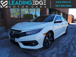 2016 Honda Civic Touring Navigation, Leather, Heated Rear Seats