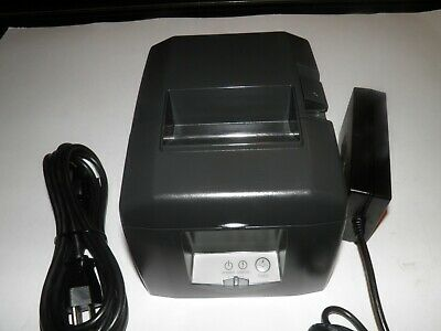 Touch Dynamic Star Tsp650 654d Thermal Pos Receipt Printer Serial W Power Suppy