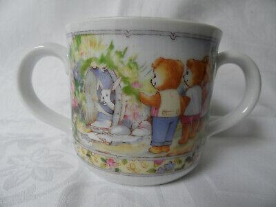 Royal Worcester Fine Porcelain Wooster Bear Tasse 1424 Royal Worcester Fine Porcelain