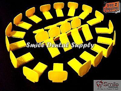 25 Posterior Yellow Bite Block -xcp Blocks Not For Digital Sensors