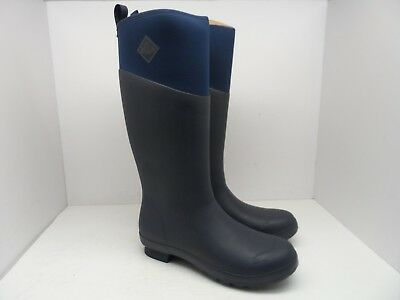 - Muck Boots Womens Tremont Wellie Tall Fashion Cold Weather Boot TWT-200 Navy 11M