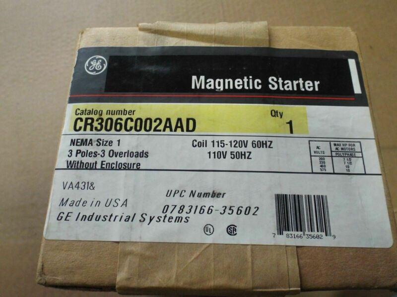 General Electric Starter Cr306c002aada