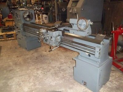 Summit Model 19-4 Engine Lathe 19 X 80 Large Spindle Hole 4 18