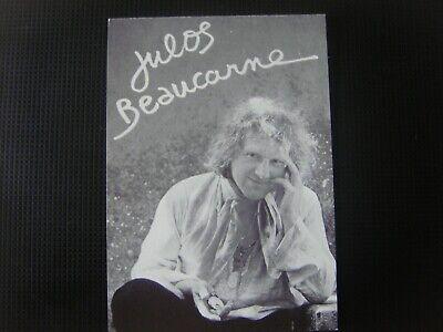 Carte publicitaire Julos BEAUCARNE ( Ecaussinnes 1936- vit à Tourinnes la Grosse