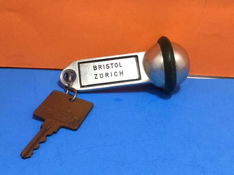 Vintage Bristol Zurich Hotel Key/Fob #55