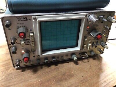 Tektronix 465 Oscilloscope From Local Power Compnany