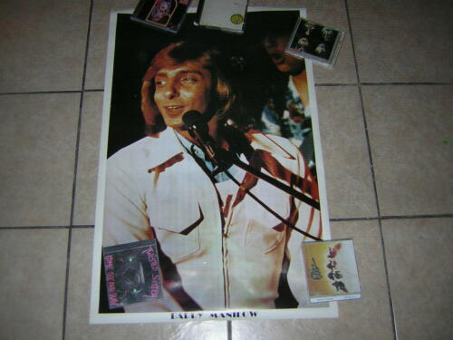 BARRY MANILOW POSTER VINTAGE 1977 CARNIVAL MANDY COPACABANA MANDY