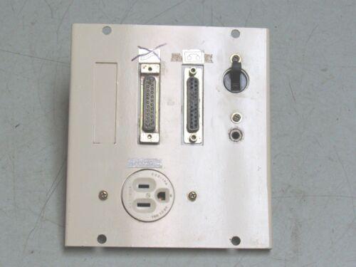 MAZAK AJV-25/404 CNC VMC CONTROL PANEL EXT PLATE MITSUBISHI CP-S FREE SHIP