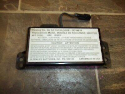 06 IMPALA 2010 Cadillac DTS 22704633 Communication Control Onstar Battery Module