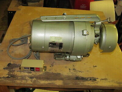 Feitsew As-4004 Commercial Sewing Machine Clutch Motor120 Volt Single Phase