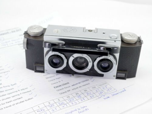 EXTREMELY EARLY (SN: 95) Stereo Realist ILEX camera - Fully serviced by DrT