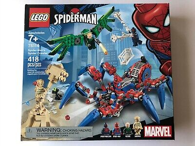 LEGO Spider-Man's Spider Crawler Set 76114 New, Factory Sealed!
