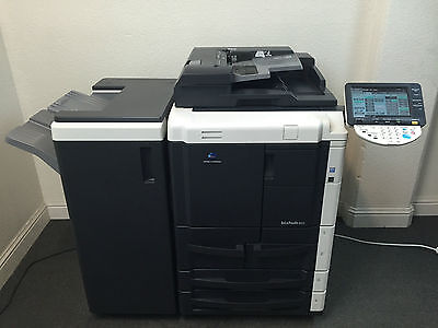 Konica Minolta Bizhub 601 Copier Printer Scanner Staple Low 286k Total Pages