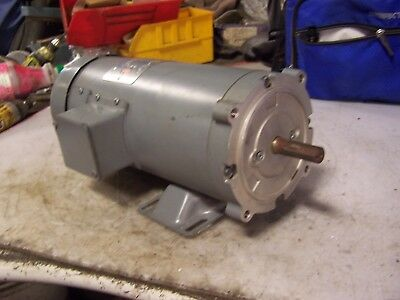 NEW BOSTON FINCOR 1 HP ELECTRIC DC MOTOR 90 VDC 1750 RPM 56C FRAME 5/8