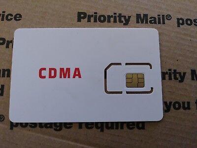 Fits VERIZON compatible Apple iPhone 4S - REDPOCKET SIM Card Activation Kit CDMA