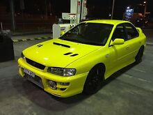 "Wrx 1999 ""custom paint,PPg gearbox,Gt pump turbo"" Canley Heights Fairfield Area Preview"