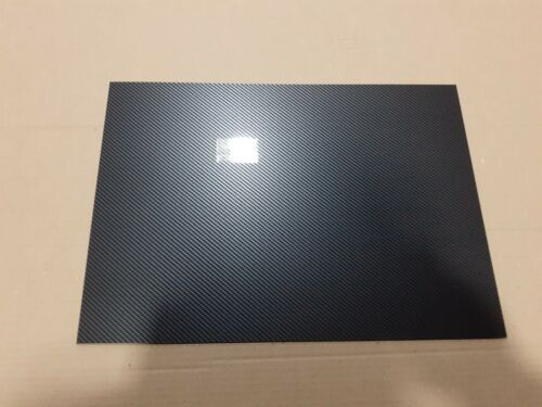 2 mm Carbon Fibre EFFECT ABS sheet 600 mm x 300 mm Car trims-model making etc
