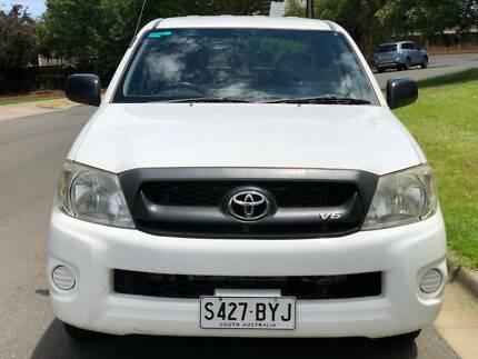 2010 TOYOTA HILUX SR AUTO 178K KMS DUAL CAB Torrensville West Torrens Area Preview