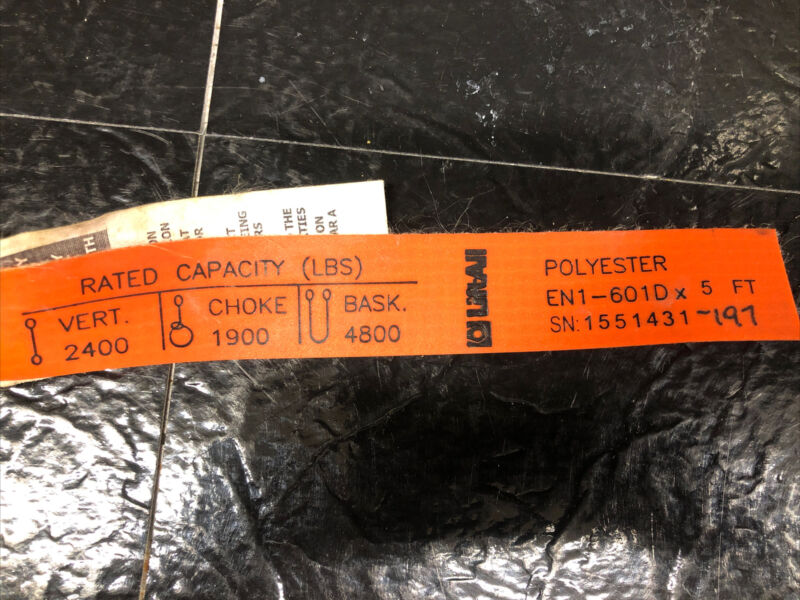 LiftAll EN1-601D X 5' Polyester Sling Strap