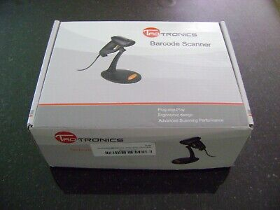 Taotronics Usb Barcode Scanner With Stand Model 30-88001-003 New