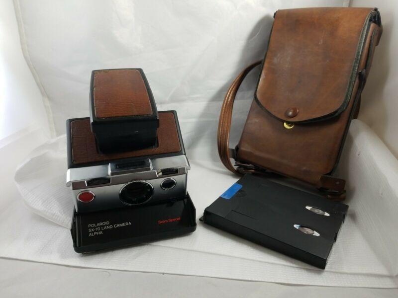 Rare Polaroid Alpha -  Sears Special  SX-70 Land Camera