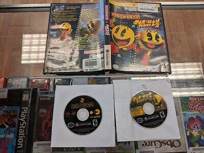 Nintendo Gamecube Pac-Man vs./Pac-Man World 2 no manual polished free ship