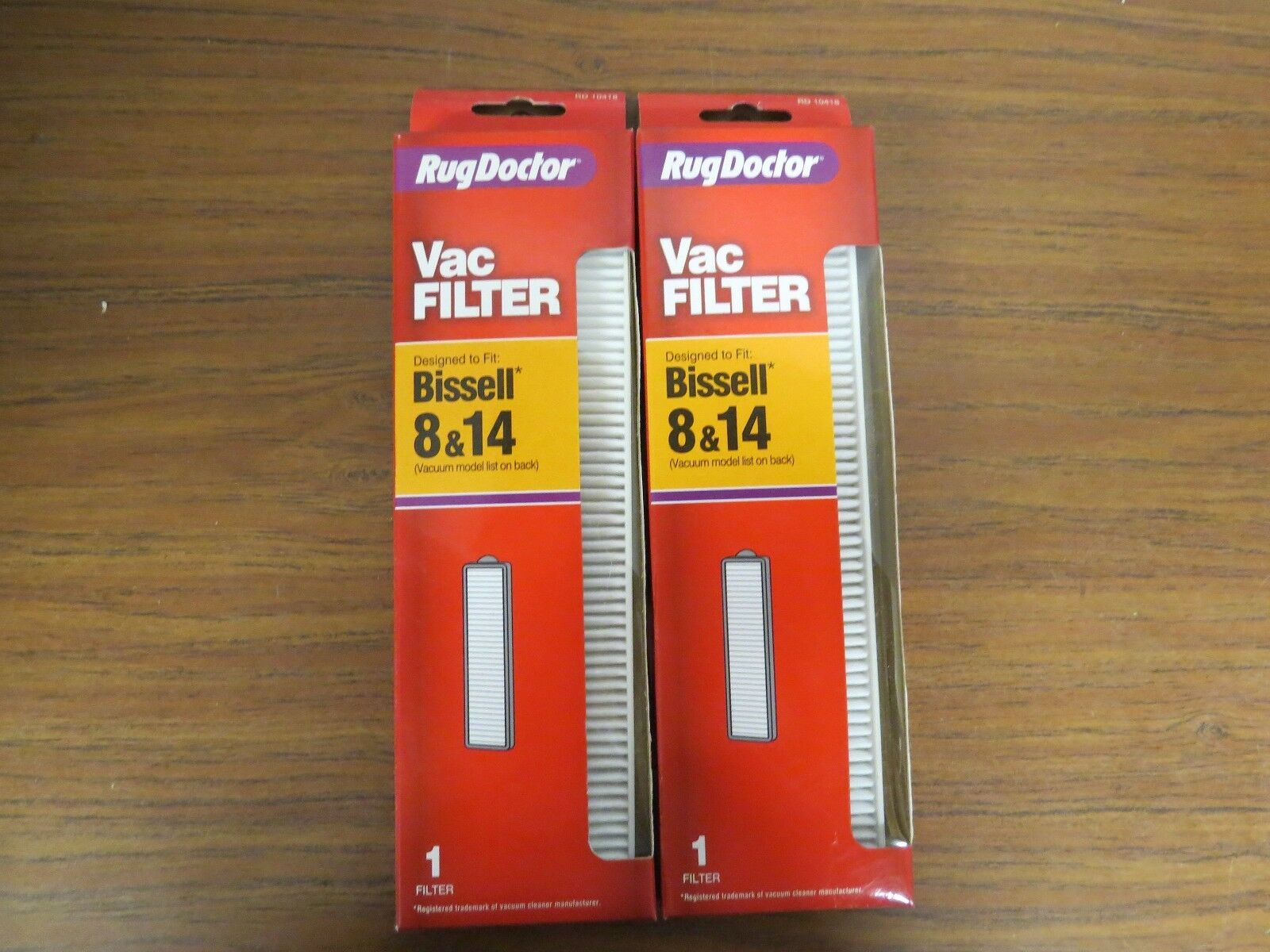 +Lot of 2 Bissell Rug Doctor filter For 8 & 14 Lift Off Revo