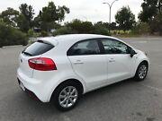 2013 Kia Rio Auto Hatchback - White Dianella Stirling Area Preview