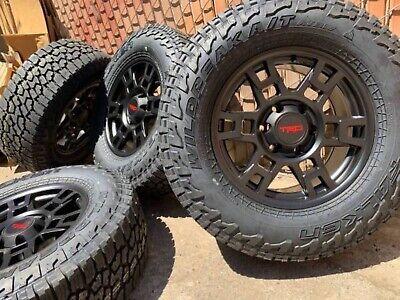 Toyota Tacoma / 4runner TRD PRO STYLE Rims All-Terrain Falken Tires Wheels