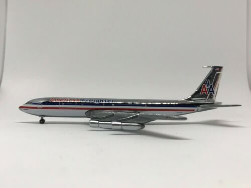 Gemini Jets - American B707-320C   GJAAL297C  Scale 1:400