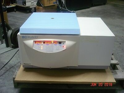 Thermo Iec-multi Rf Refrigerated Centrifuge With 8947 Swinging Rotor 4 Buckets