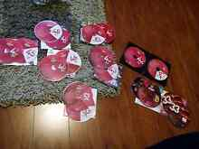 Zumba workout dvds and cds 9 diffrent volumes lot bundle Macleod Banyule Area Preview