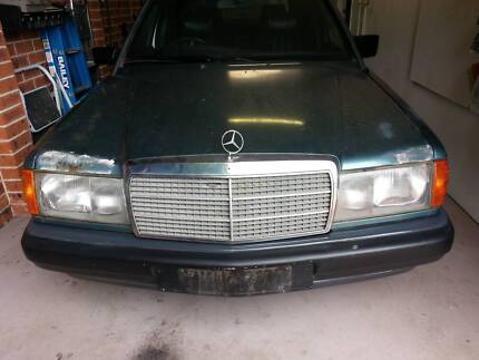 Mercedes Parts 190E 180E 1986 -1993 Wrecking ENTIRE CAR 2.0L Glenwood Blacktown Area Preview
