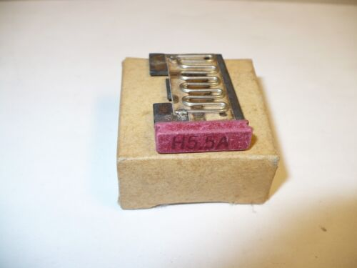 1 pc. Eaton MSH5.5A Overload Heater Element for MS Series Motor Starters, New