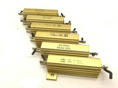 Lot Of 6 Te Connectivity Cgs Hsa50 1r5 Resistors Res 1.5 Ohm Power 50 Watt