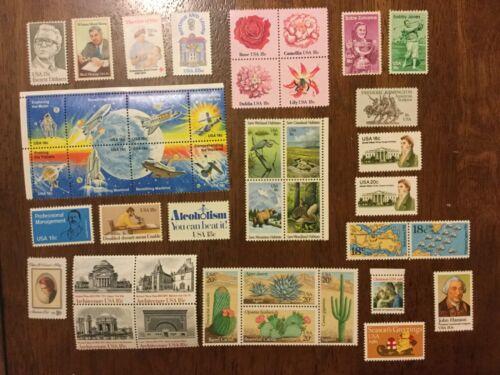 1981 commemorative set - 42 stamps MNH 1874-1945