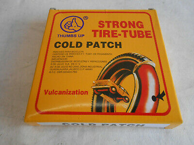 24 Piece Bike Tire Tube Patch & Cement Kit Bicycle Repair ATV Motorcycle Strong
